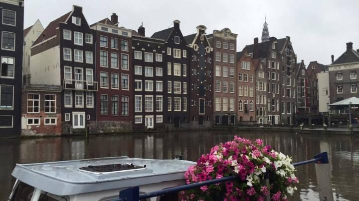 A Rainy Day inAmsterdam